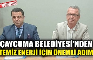 ÇAYCUMA BELEDİYESİ'NDEN TEMİZ ENERJİ İÇİN...