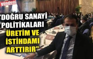 """CHP'Lİ VEKİL DEMİRTAŞ: """"DOĞRU SANAYİ..."""