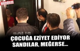 ÇOCUĞA EZİYET EDİYOR SANDILAR, MEĞERSE...