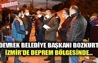DEVREK BELEDİYE BAŞKANI BOZKURT, İZMİR'DE...