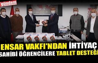 ENSAR VAKFI'NDAN İHTİYAÇ SAHİBİ ÖĞRENCİLERE...