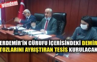 ERDEMİR'İN CÜRUFU İÇERİSİNDEKİ DEMİR...