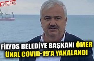 FİLYOS BELEDİYE BAŞKANI ÖMER ÜNAL COVID-19'A...