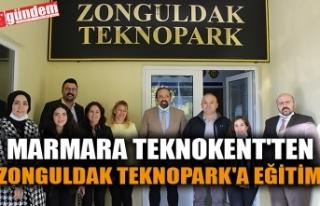 MARMARA TEKNOKENT'TEN ZONGULDAK TEKNOPARK'A...