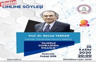 Prof. Dr. Nevzat Tarhan 'Pandemi Sonrasında İnsanlık'...