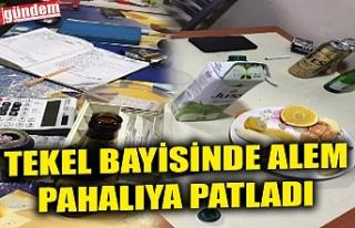 TEKEL BAYİSİNDE ALEM PAHALIYA PATLADI