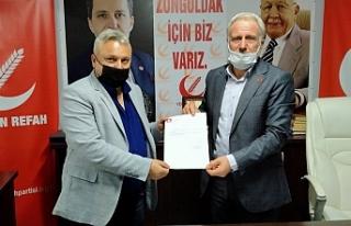 YENİDEN REFAH PARTİSİ KİLİMLİ İLÇE BAŞKANLIĞI'NA...