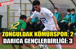 Zonguldak Kömürspor: 2 - Darıca Gençlerbirliği:...