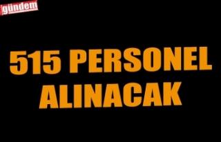 515 PERSONEL ALINACAK