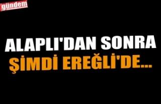 ALAPLI'DAN SONRA ŞİMDİ EREĞLİ'DE...