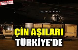 ÇİN AŞILARI TÜRKİYE'DE