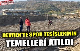 DEVREK'TE SPOR TESİSLERİNİN TEMELLERİ ATILDI