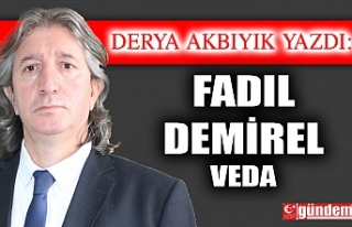 FADIL DEMİREL/ VEDA