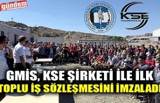 GMİS, KSE ŞİRKETİ İLE İLK TOPLU İŞ SÖZLEŞMESİNİ...