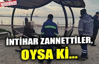 İNTİHAR ZANNETTİLER, OYSA Kİ...