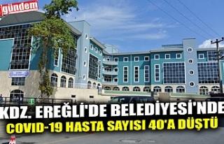 KDZ. EREĞLİ'DE BELEDİYESİ'NDE COVID-19...