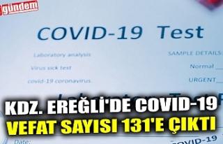 KDZ. EREĞLİ'DE COVID-19 VEFAT SAYISI 131'E...
