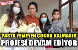 """""""PASTA YEMEYEN ÇOCUK KALMASIN"""" PROJESİ..."""