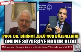 PROF. DR. BİRİNCİ, ZBEÜ'NÜN DÜZENLEDİĞİ...