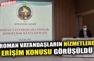 ROMAN VATANDAŞLARIN HİZMETLERE ERİŞİM KONUSU...