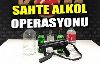 SAHTE ALKOL OPERASYONU
