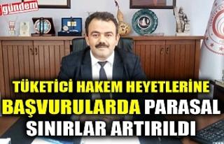 TÜKETİCİ HAKEM HEYETLERİNE BAŞVURULARDA PARASAL...