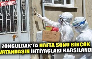 ZONGULDAK'TA HAFTA SONU BİRÇOK VATANDAŞIN İHTİYAÇLARI...