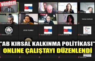 """""""AB KIRSAL KALKINMA POLİTİKASI"""" ONLINE..."""