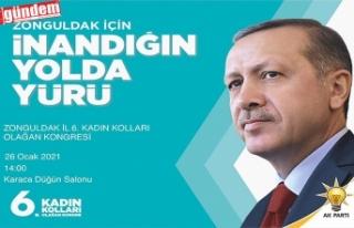 AK PARTİ ZONGULDAK İL 6. KADIN KOLLARI OLAĞAN KONGRESİ...