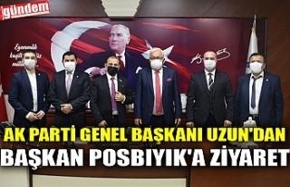 AK PARTİ GENEL BAŞKANI UZUN'DAN BAŞKAN POSBIYIK'A...