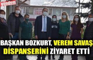 BAŞKAN BOZKURT, VEREM SAVAŞ DİSPANSERİNİ ZİYARET...