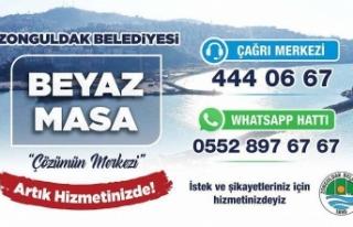'BEYAZ MASA' HİZMETE GİRDİ