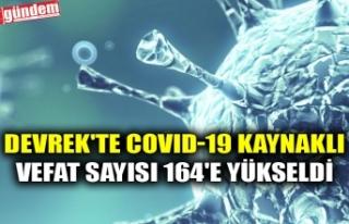 DEVREK'TE COVID-19 KAYNAKLI VEFAT SAYISI 164'E...