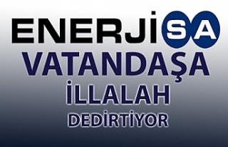 Enerjisa'ya tepki Esnaf ve vatandaş mağdur, elektrikler...
