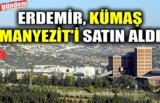 ERDEMİR, KÜMAŞ MANYEZİT'İ SATIN ALDI
