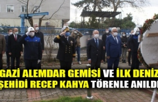 GAZİ ALEMDAR GEMİSİ VE İLK DENİZ ŞEHİDİ RECEP...