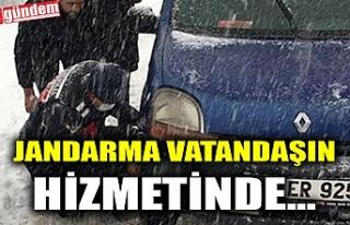 JANDARMA VATANDAŞIN HİZMETİNDE...