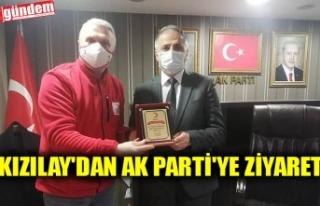 KIZILAY'DAN AK PARTİ'YE ZİYARET