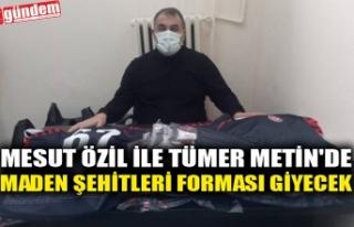 MESUT ÖZİL İLE TÜMER METİN'DE MADEN ŞEHİTLERİ...