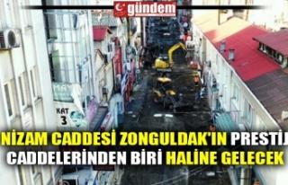 NİZAM CADDESİ ZONGULDAK'IN PRESTİJ CADDELERİNDEN...