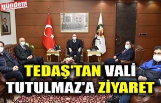 TEDAŞ'TAN VALİ TUTULMAZ'A ZİYARET