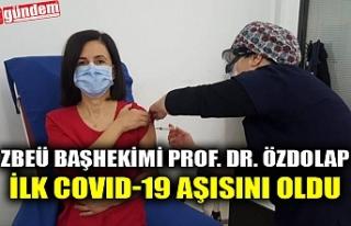 ZBEÜ BAŞHEKİMİ PROF. DR. ÖZDOLAP İLK COVID-19...