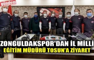 ZONGULDAKSPOR'DAN İL MİLLİ EĞİTİM MÜDÜRÜ...