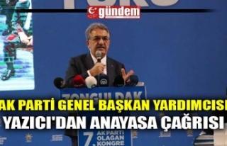 AK PARTİ GENEL BAŞKAN YARDIMCISI YAZICI'DAN...