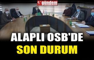 ALAPLI OSB'DE SON DURUM