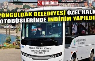 ZONGULDAK BELEDİYESİ ÖZEL HALK OTOBÜSLERİNDE...