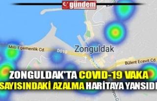 ZONGULDAK'TA COVID-19 VAKA SAYISINDAKİ AZALMA...