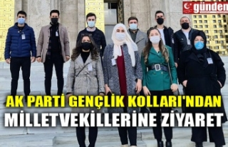 AK PARTİ GENÇLİK KOLLARI'NDAN MİLLETVEKİLLERİNE...
