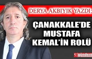 Çanakkale'de Mustafa Kemal'in Rolü
