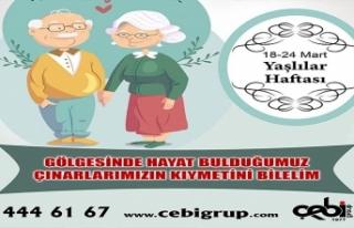 """Çebi Grup Ceosu Yasin Hamzaçebi: """"Yaşlılarımız,..."""